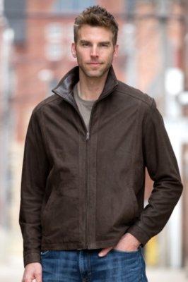 Martin Lambskin Leather Jacket
