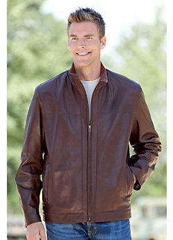 Men's Eugene Lambskin Leather Jacket