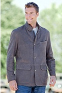 Escondido Lambskin Leather Jacket
