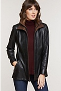 Women's Rory Lambskin Leather Jacket