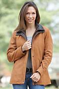 Zanna Lambskin Leather Coat