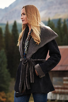 Betty Shearling Sheepskin Coat