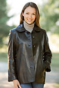 Women's Charlene Spanish Lambskin Leather Jacket