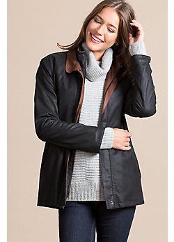 Leigh Lambskin Leather Jacket