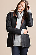 Women's Leigh Lambskin Leather Jacket