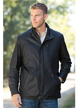 Raleigh Italian Lambskin Leather Jacket