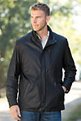 Men's Raleigh Italian Lambskin Leather Jacket