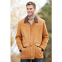 Men's Stamford Lambskin Leather Jacket, Maple / Rustic, Size 48 Western & Country
