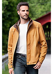 Men's Tucson Italian Lambskin Leather Jacket