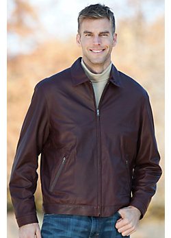 Men's Classic Territory Lambskin Leather Jacket