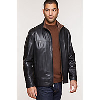 Men's Dawson Lambskin Leather Jacket, Falcon / Rustic, Size 38 Western & Country