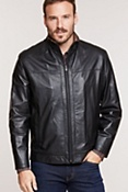 Men's Dawson Lambskin Leather Jacket