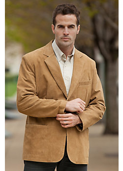 Men's Beaumont Pebbled Leather Blazer