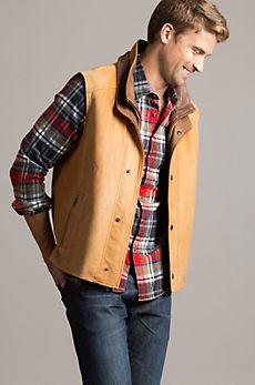Falcon Lambskin Leather Vest