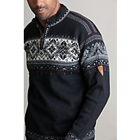 Dale of Norway Blyfjell Wool Sweater, F-BLACK
