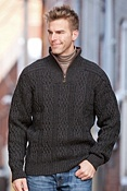 Men's Henningsvaer Norwegian Wool Pullover