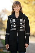 Women's Fram Norwegian Wool Cardigan Sweater