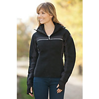 Women's Totta Knitshell Wool-Blend Jacket, F-BLACK, Size MEDIUM (4-6)