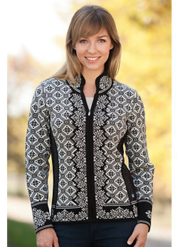 Women's Christiania Merino Wool Cardigan Sweater