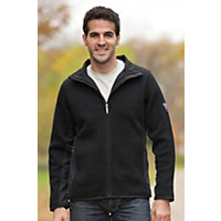 Men's Spitsbergen Norwegian Wool Jacket, F-Black, Size Small (34-36) Western & Country