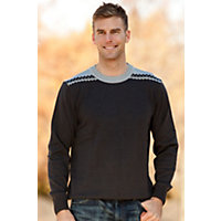 Men's Rodkleiva Merino Wool Pullover, Echarcoal, Size Medium (38-40) Western & Country