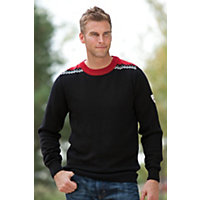 Men's Rodkleiva Merino Wool Pullover, F-Black, Size Xxlarge (50-52) Western & Country