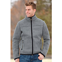 Men's Colorado Norwegian Wool Knitshell Jacket, E-Smoke, Size Xxlarge (52-54) Western & Country