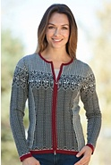 Sigrid Merino Wool Cardigan Sweater