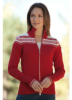Women's Hemsedal Merino Wool Cardigan Sweater