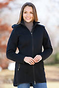 Women's Colorado Knitshell Wool Jacket with Raccoon Fur Trim