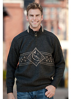 Men's Lakselv Norwegian Wool Sweater