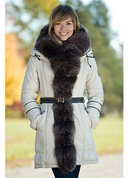 Women's Alexis Ski Jacket with Fox Fur Trim