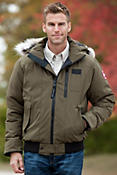 Men's Borden Canada Goose Down Bomber Jacket
