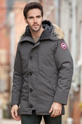 Chateau Canada Goose Down Parka with Coyote Fur Trim
