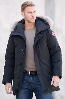 Canada Goose Chateau Down Parka with Coyote Fur Trim