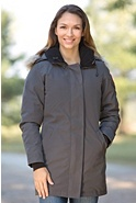Women's Victoria Canada Goose Down Parka with Coyote Fur Trim