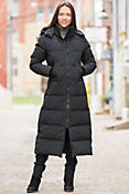 Women's Mystique Canada Goose Down Parka with Coyote Fur Trim