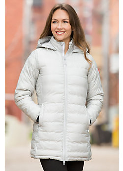 Women's Camp Canada Goose Hooded Down Jacket