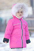Children's Canada Goose Reese Down Parka with Coyote Fur Trim