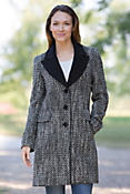Women's Inez Loro Piana Wool Coat