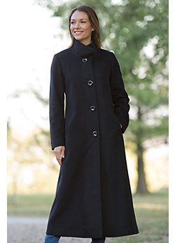 Women's Bernadine Loro Piana Wool Coat