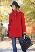 Annaleigh Loro Piana Wool Coat (Missy)