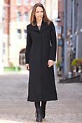 Women's Beverly Loro Piana Wool Coat