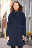 Ilana Alpaca-Blend Wool Coat