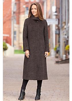 Women's Belinda Alpaca-Blend Wool Coat
