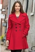Ginger Princess Loro Piana Wool Coat