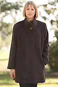 Women's Emmaline Alpaca-Blend Wool Coat