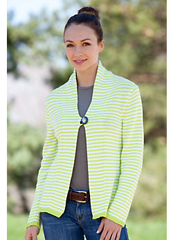 Women's Sun Handmade Cotton Cardigan Sweater