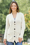 Women's Jasmine Handmade Cotton Cardigan Sweater