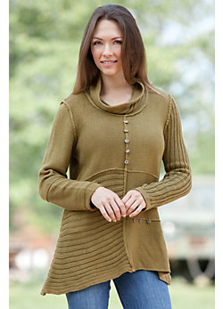 Women's Asia Handmade Cotton Pullover Sweater